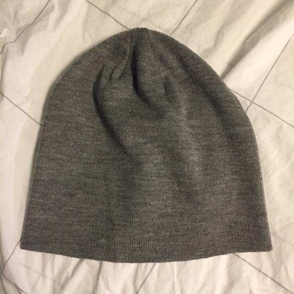 Grey slouchy beanie winter hat b484b74d5cf